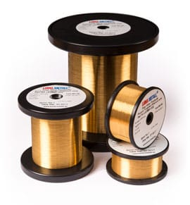 Gold Plated Brass Wire