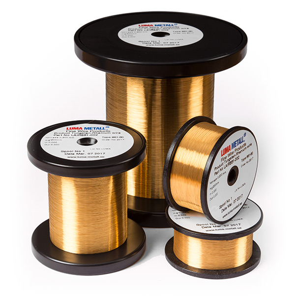 luma fine gold plated wire